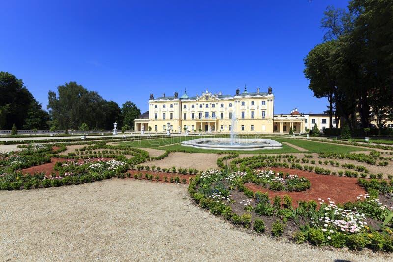 Slott av Bialystok poland fotografering för bildbyråer