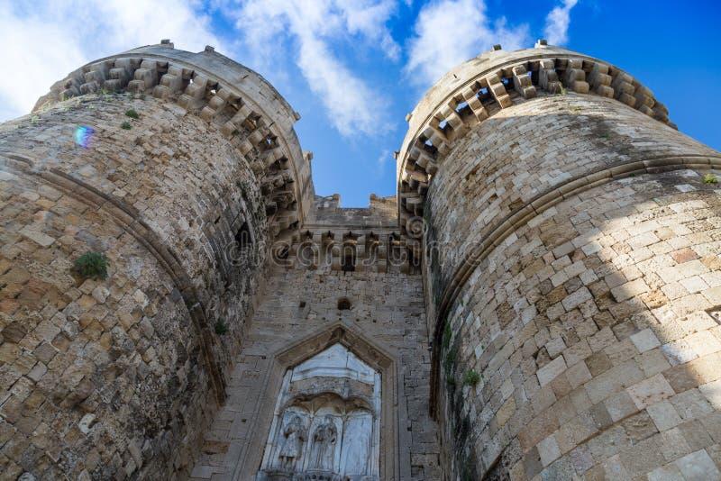 Slott av den storslagna förlagen av riddarna arkivfoton