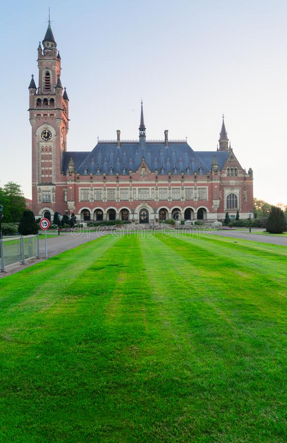 Slott av fred i Haag arkivfoton