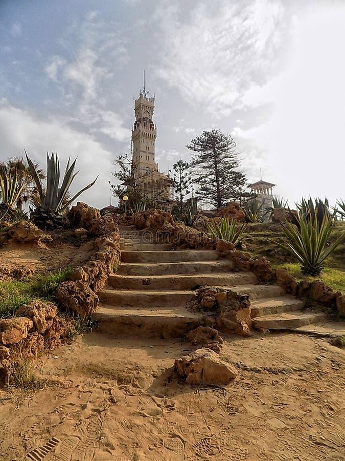 Slott av gäster royaltyfria bilder