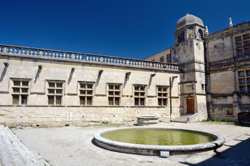 Slott av Grignan royaltyfria bilder