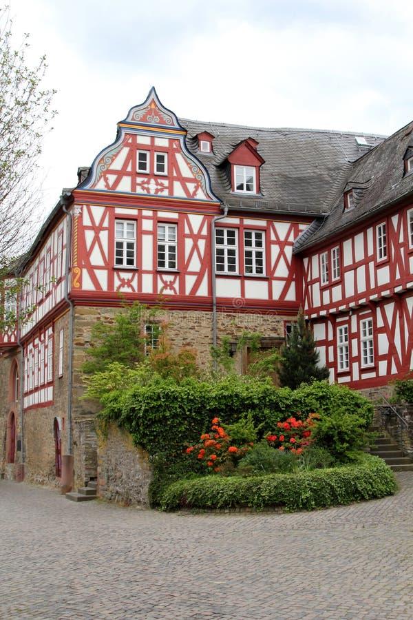 Slott av Idstein, Tyskland arkivbilder