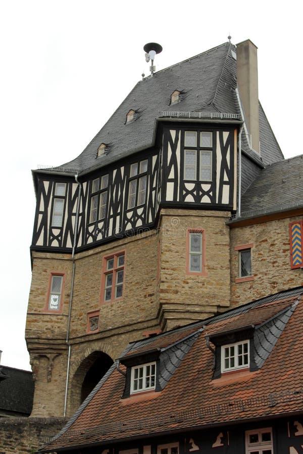Slott av Idstein, Tyskland fotografering för bildbyråer