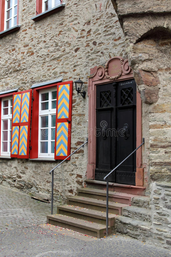Slott av Idstein, Tyskland arkivfoto