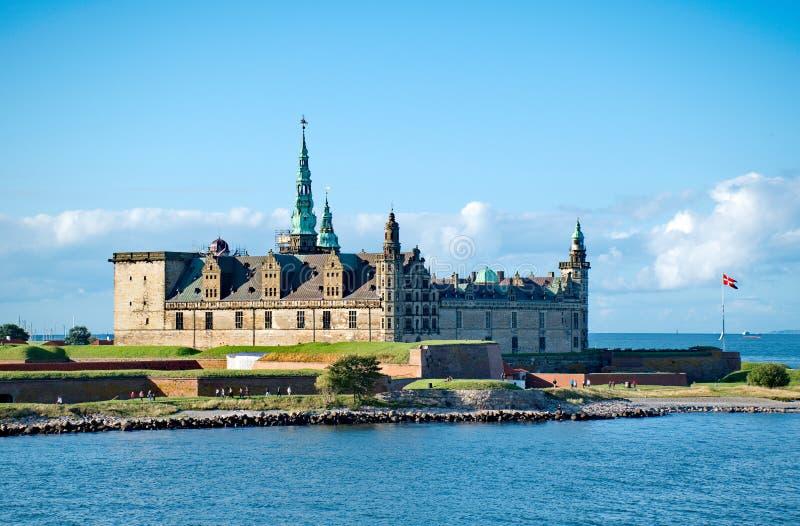 Slott av Kronborg royaltyfri fotografi
