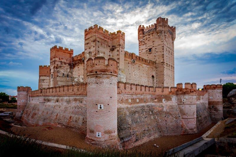 Slott av Motaen royaltyfri bild
