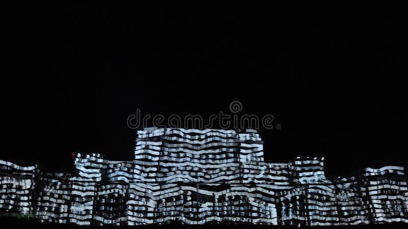 Slott av parlamentet Bucharest arkivbild