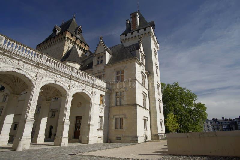 Slott av Pau, Pyrenees Atlantiques, Aquitaine, Frankrike arkivfoto
