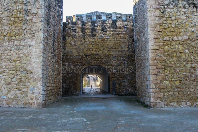 Slott av regulatorer, Lagos stad i Portugal royaltyfri foto