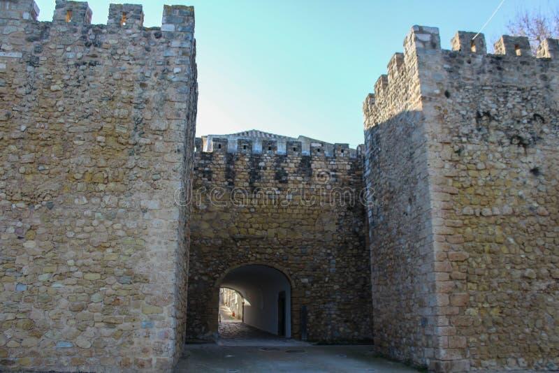 Slott av regulatorer, Lagos stad i Portugal arkivfoton