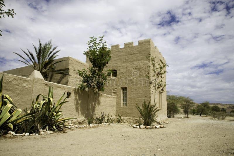Slott av sesfontein arkivfoton
