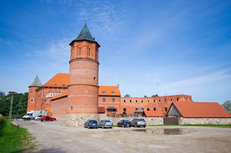 Slott av Tykocin, Polen arkivbild