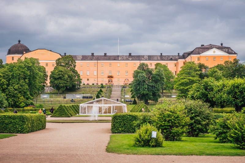 Slott av Uppsala royaltyfria foton