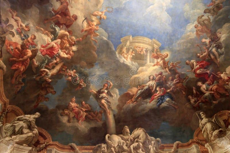 Slott av Versailles - Paris royaltyfri bild