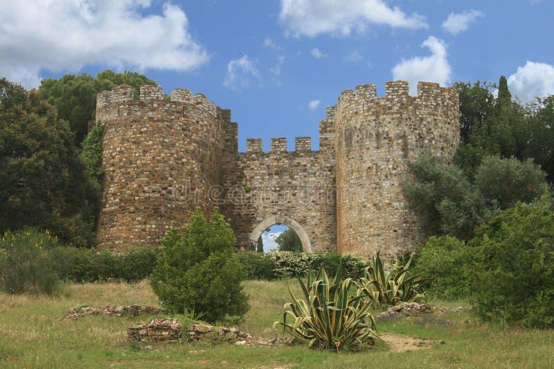 Slott av Vila Vicosa royaltyfri bild