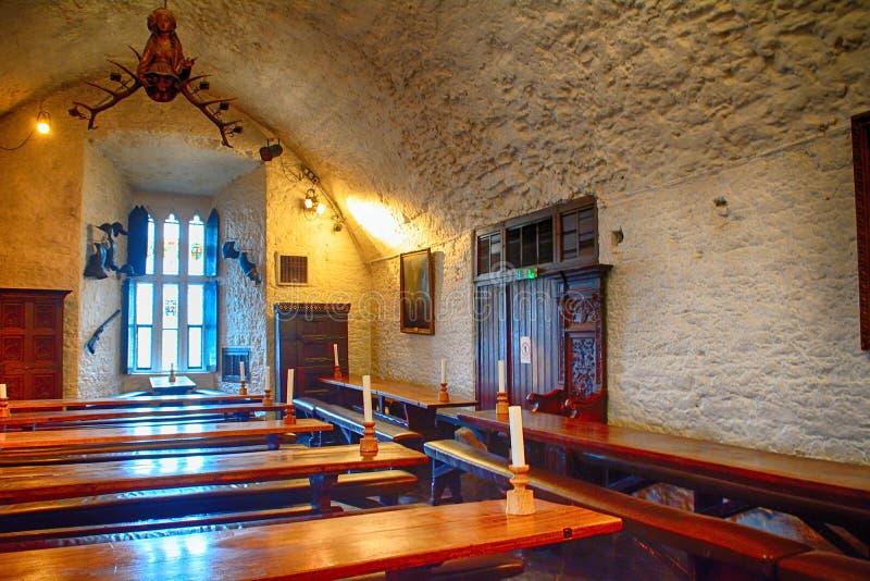 Slott Bunratty, Irland royaltyfria bilder