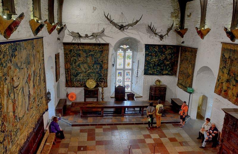 Slott Bunratty, Irland arkivbilder