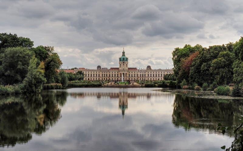 Slott Charlottenburg Berlin fotografering för bildbyråer