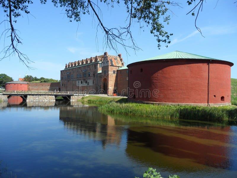 Slott de château ou de Malmohus de Malmö à Malmö, Suède du sud photographie stock