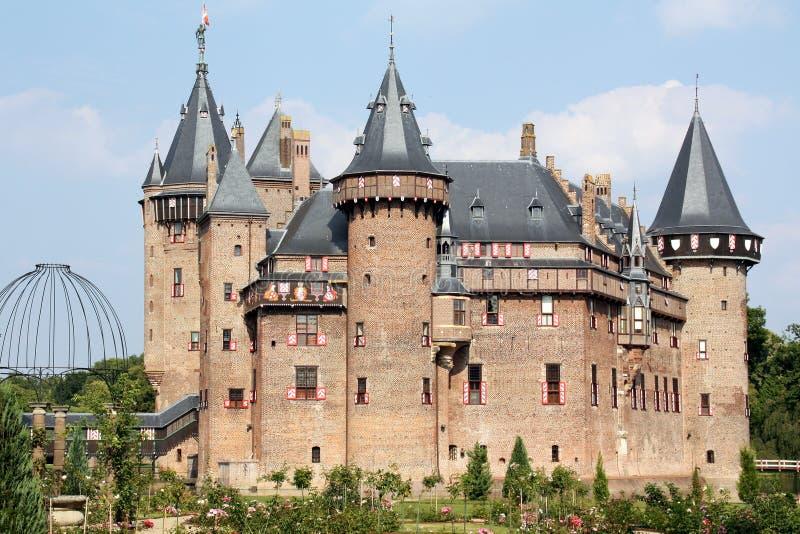 Slott de Haar fotografering för bildbyråer
