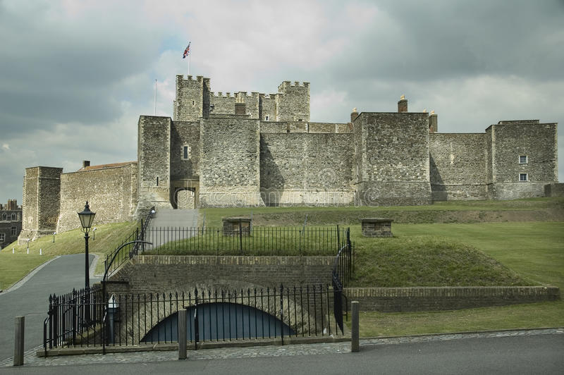 slott dover royaltyfria bilder