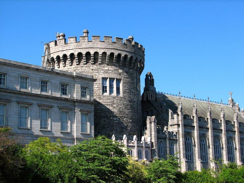 slott dublin royaltyfri bild