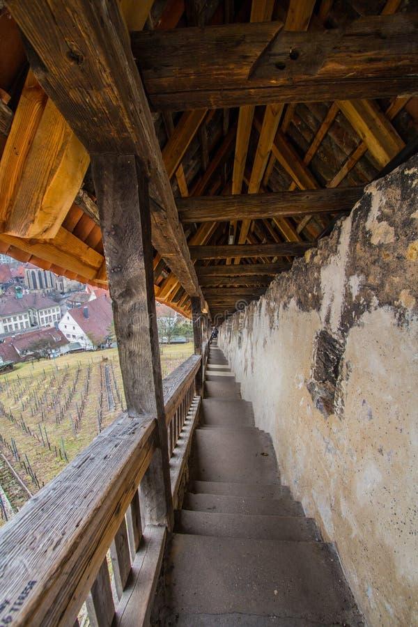 Slott - Esslingen arkivbilder