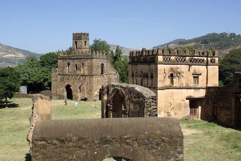 slott ethiopia royaltyfri foto