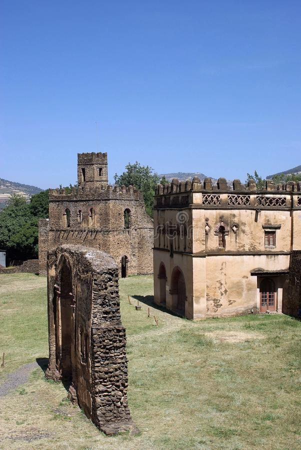 slott ethiopia arkivfoto