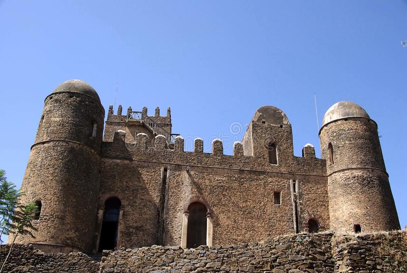 slott ethiopia arkivfoton