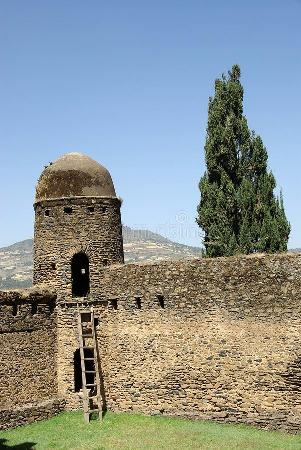 slott ethiopia arkivbilder