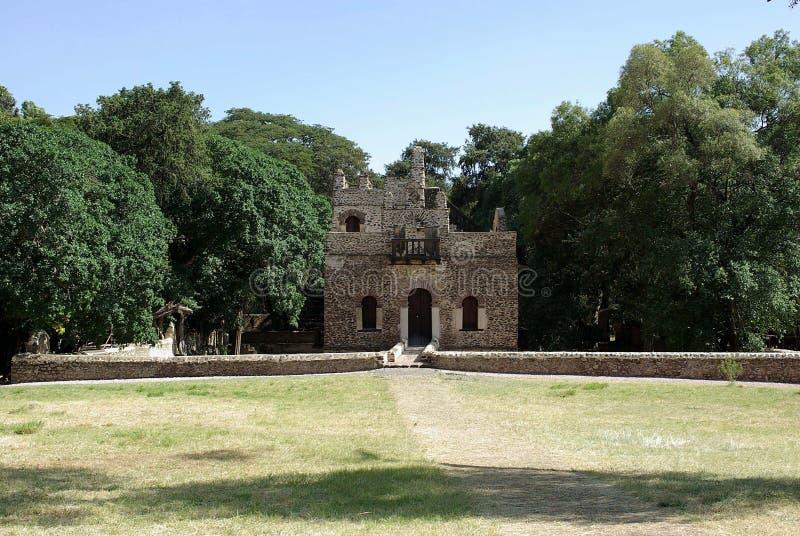 slott ethiopia royaltyfria foton