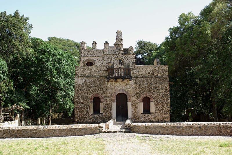 slott ethiopia royaltyfri fotografi