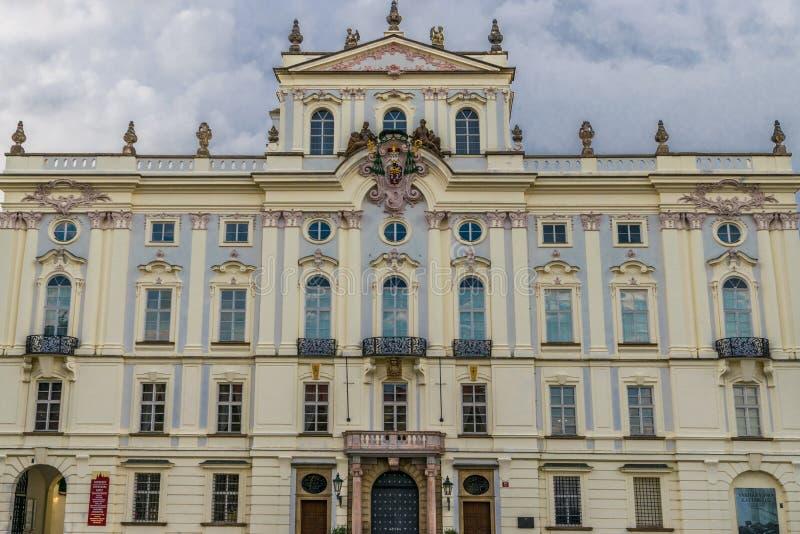 Slott för ärkebiskop` s arkivfoto