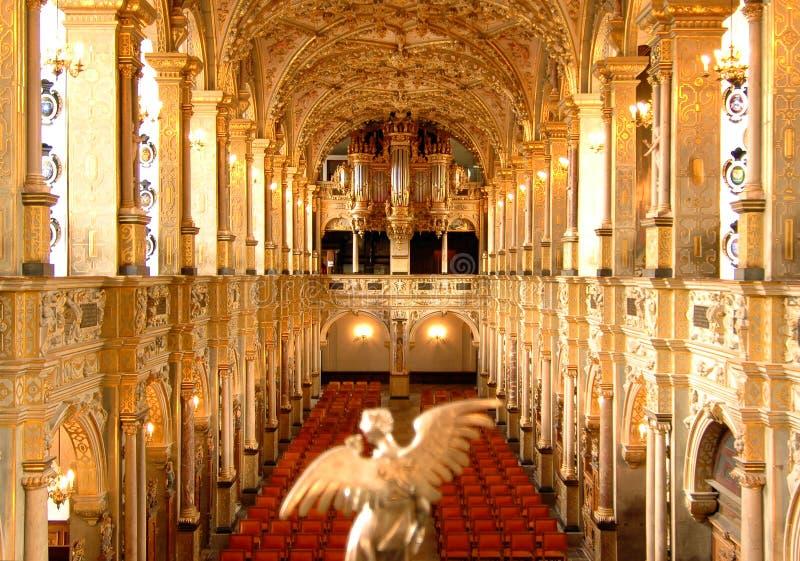 slott för interior för kapelldenmark frederick royaltyfri fotografi