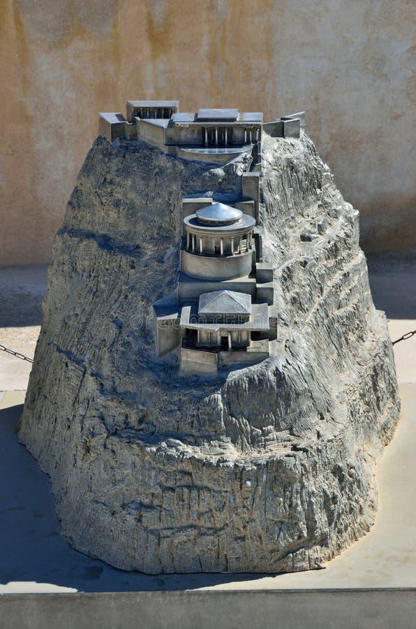 Slott för konung Herod arkivfoto