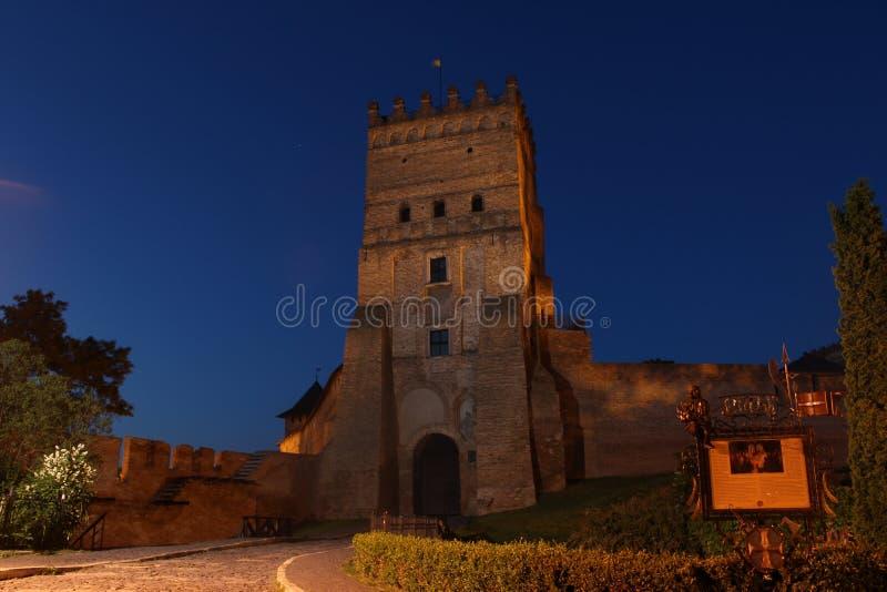 Slott för Lubart ` s arkivbilder