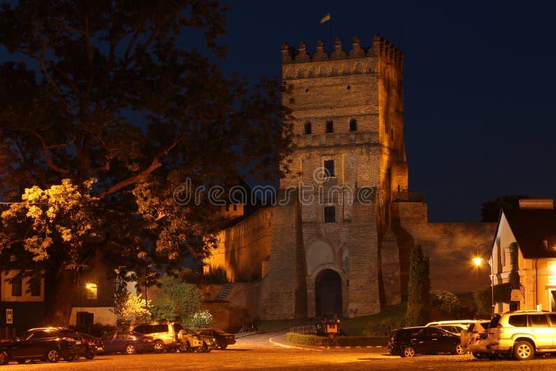 Slott för Lubart ` s royaltyfria foton