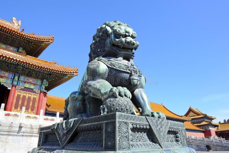 slott för museum för beijing porslin stad förbjuden royaltyfri foto