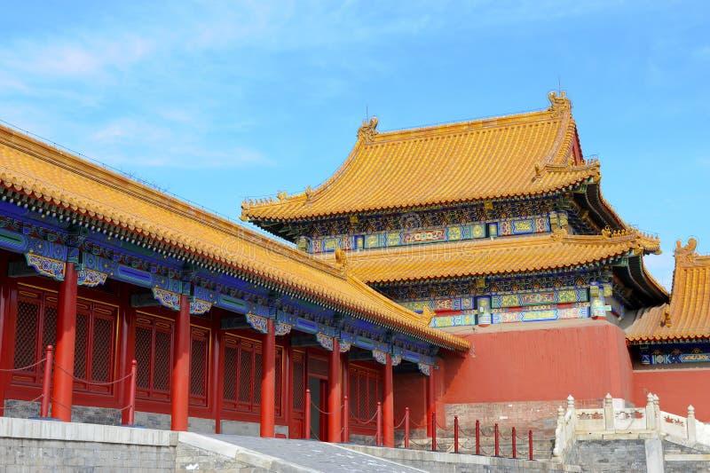 slott för museum för beijing porslin stad förbjuden royaltyfri bild