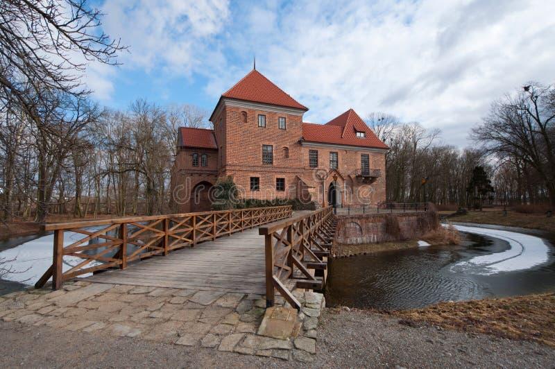 Slott för Oporà ³w royaltyfria foton