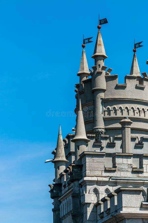 Slott för rede för svala` s arkivbilder