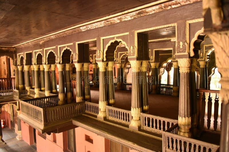 Slott för Tipu sultansommar, Bangalore arkivfoton