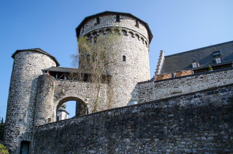slott gammala germany arkivfoto
