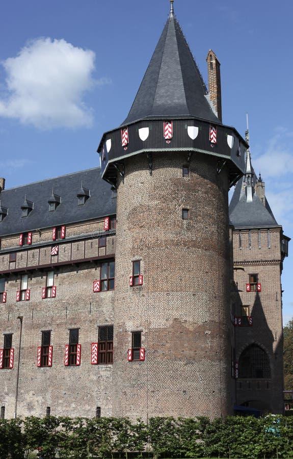 Slott Haarzuilen royaltyfria bilder