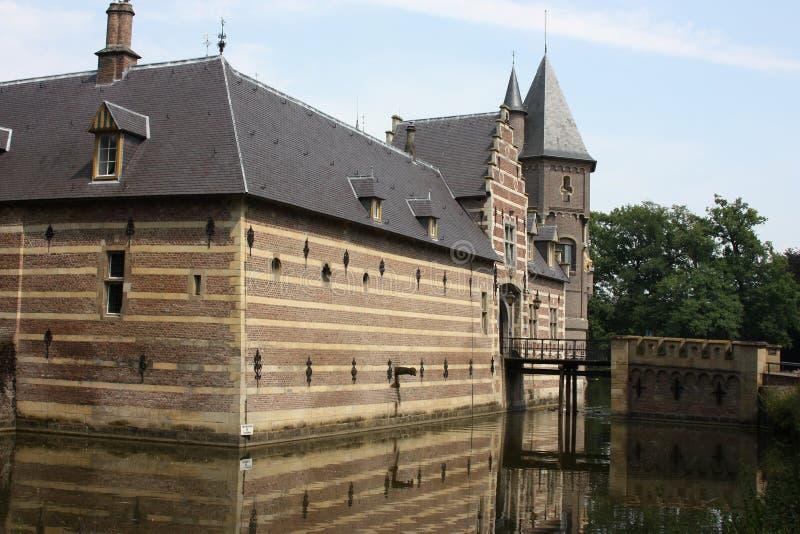 Slott Heeswijk till Heeswijk Dinther arkivfoto