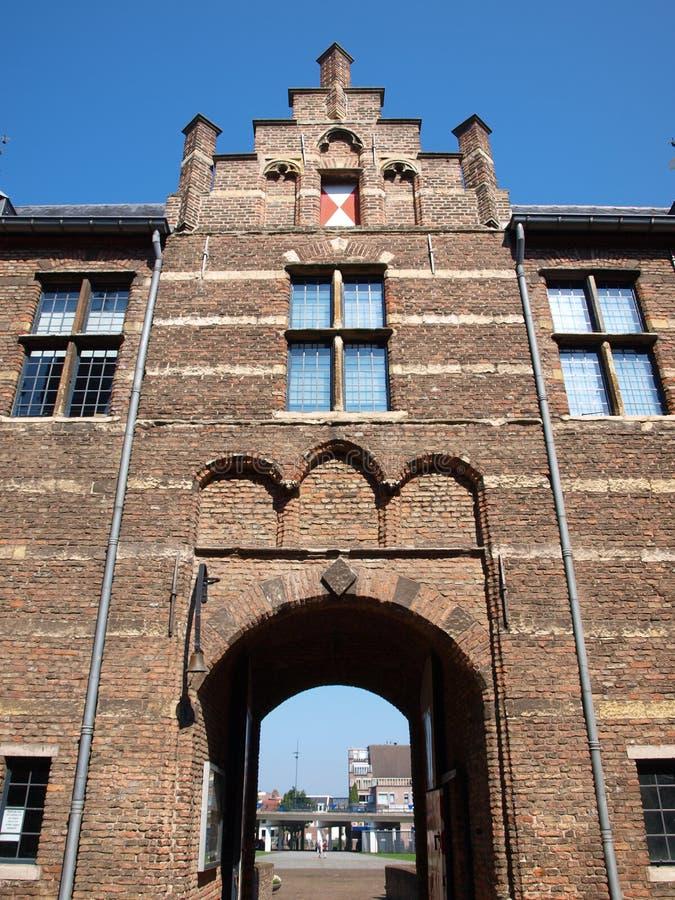 Slott Helmond Nederländerna royaltyfri bild