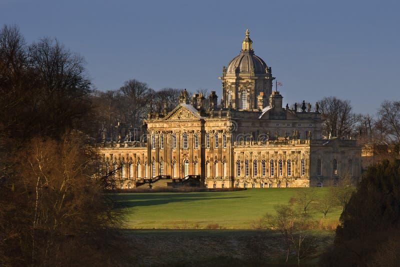 Slott Howard - North Yorkshire - Förenade kungariket arkivbilder