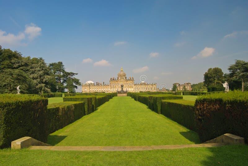Slott Howard Yorkshire royaltyfri foto