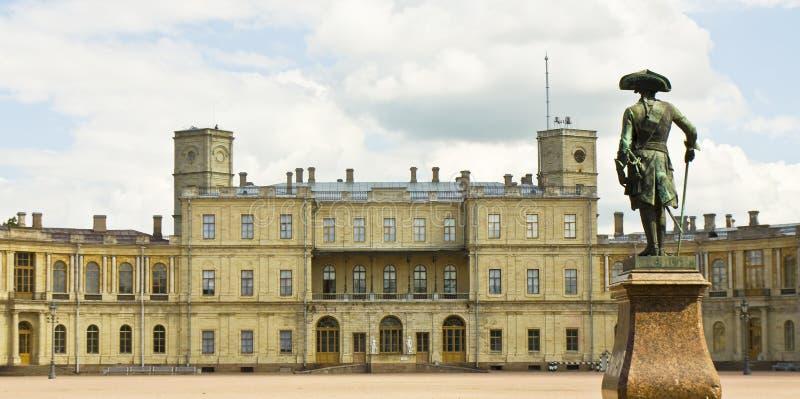 Slott i Gatchina, Ryssland arkivbilder